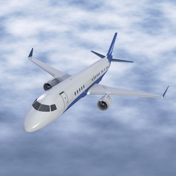 embraer lineage 1000 executive jet 3d model 3ds fbx blend dae lwo obj 217666