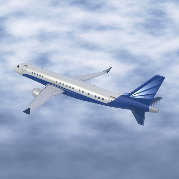 embraer lineage 1000 executive jet 3d model 3ds fbx blend dae lwo obj 217668