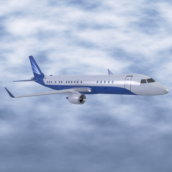 Embraer Lineage 1000 executive jet ( 131.03KB jpg by futurex3d )