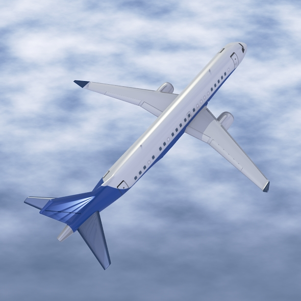 Embraer Lineage 1000 executive jet ( 141.06KB jpg by futurex3d )