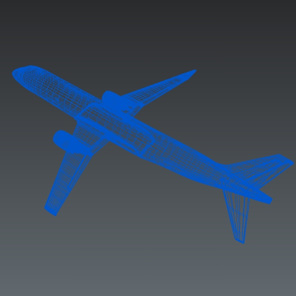Embraer Lineage 1000 executive jet ( 85.32KB jpg by futurex3d )