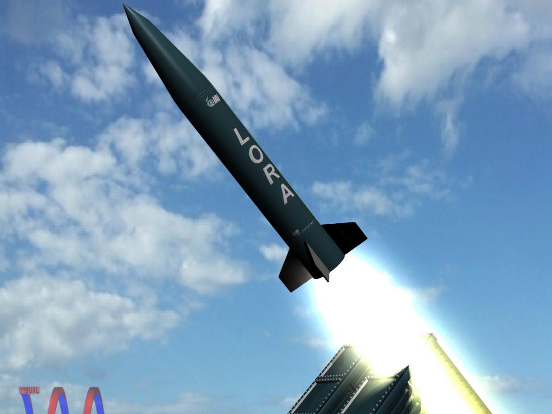 Lora Missile 3d model 0