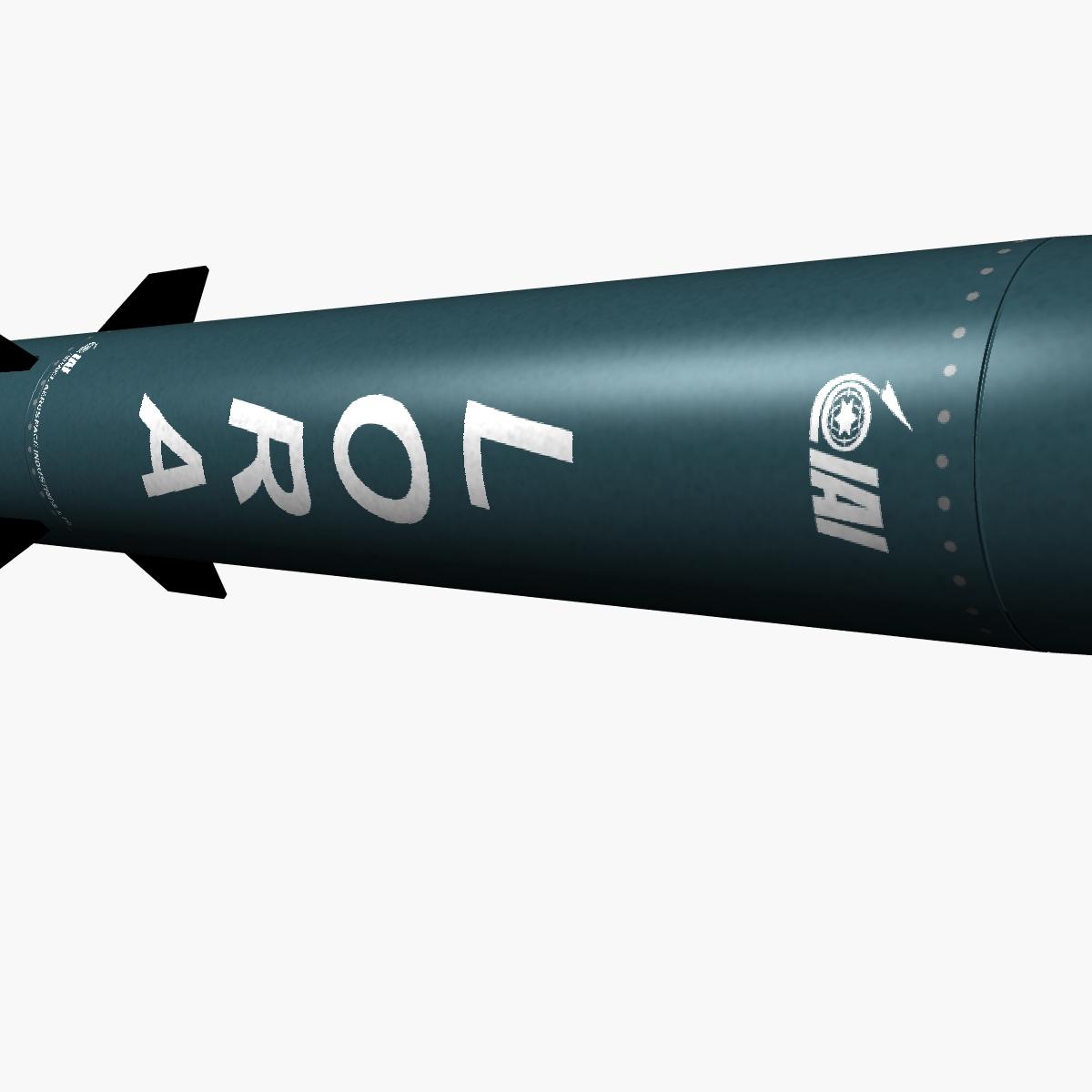 lora missile 3d model 3ds dxf fbx blend cob dae x obj 217679