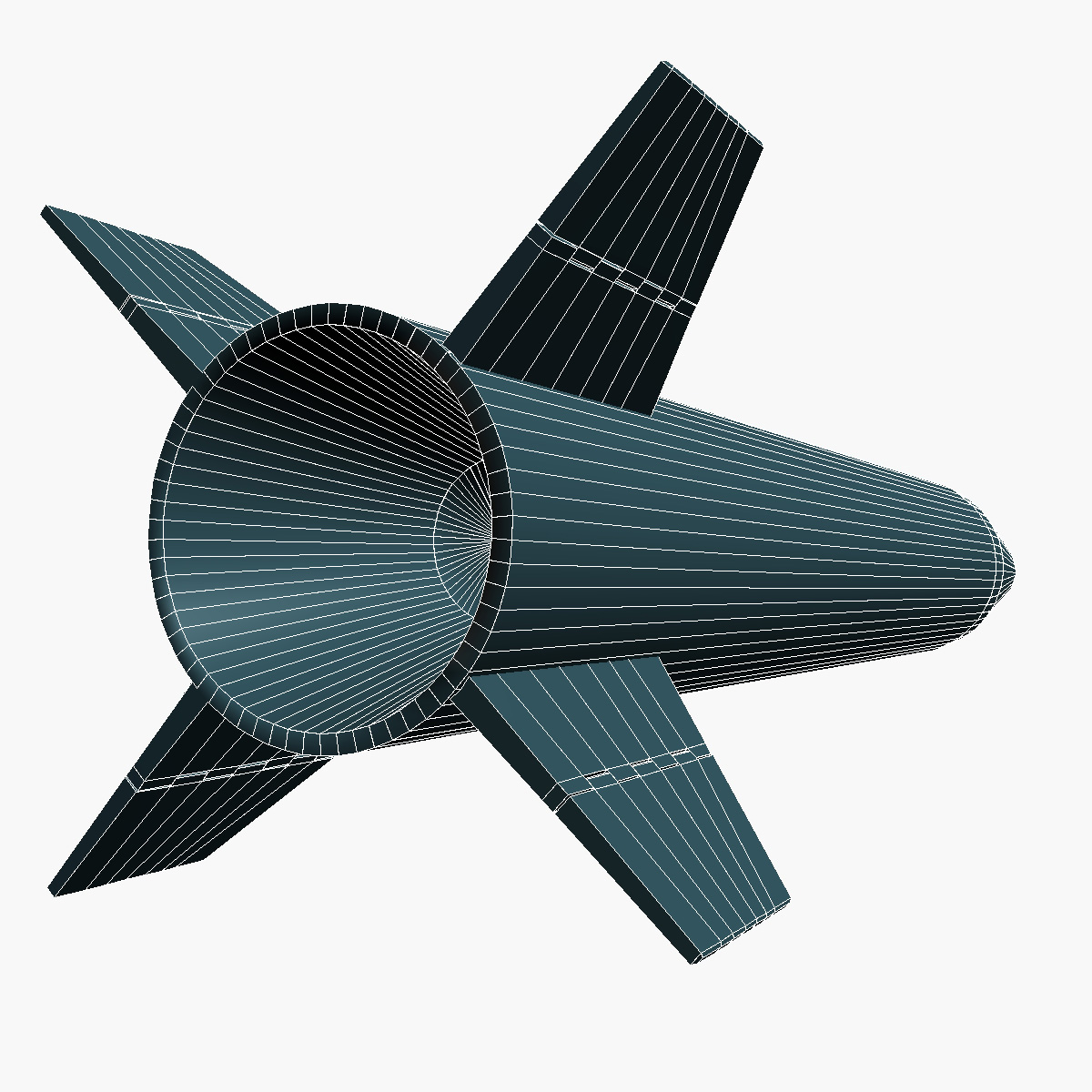 lora missile 3d model 3ds dxf fbx blend cob dae x obj 217683