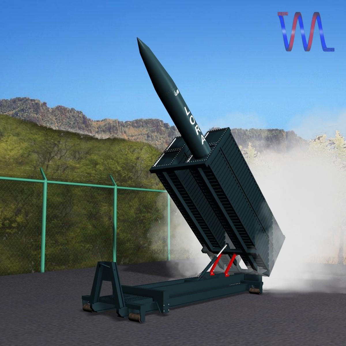 lora missile launcher 3d model 3ds dxf fbx blend cob dae x obj 217689