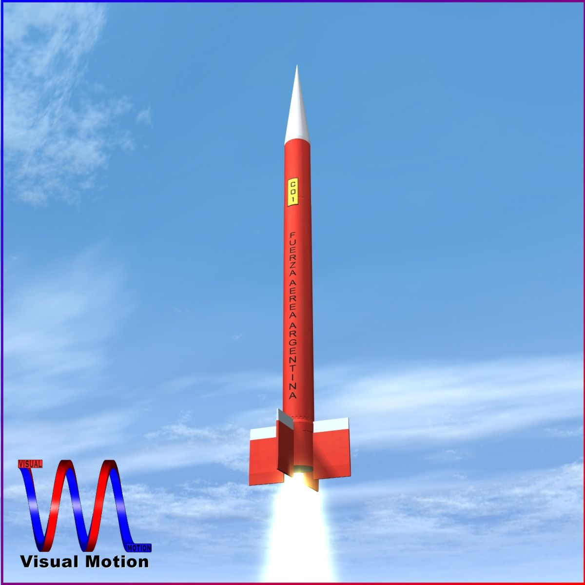 canopus ii rocket 3d model 3ds dxf fbx blend cob dae x obj 217718