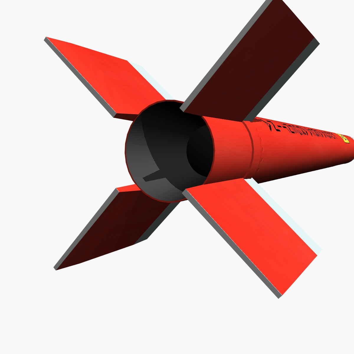 canopus ii rocket 3d model 3ds dxf fbx blend cob dae x obj 217720