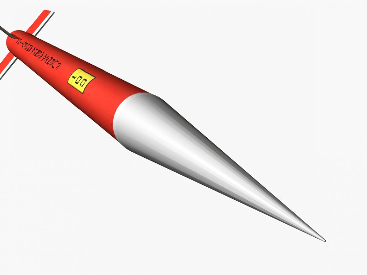 Canopus II Rocket 3d model 0