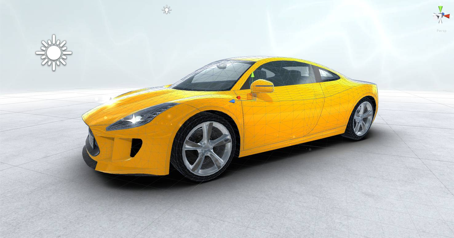 generic sports car realtime 3d model 3ds max fbx c4d lwo ma mb other obj 217745