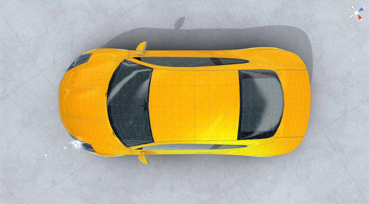 generic sports car realtime 3d model 3ds max fbx c4d lwo ma mb other obj 217746