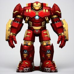 Iron Man Hulkbuster Armor 3d model 0