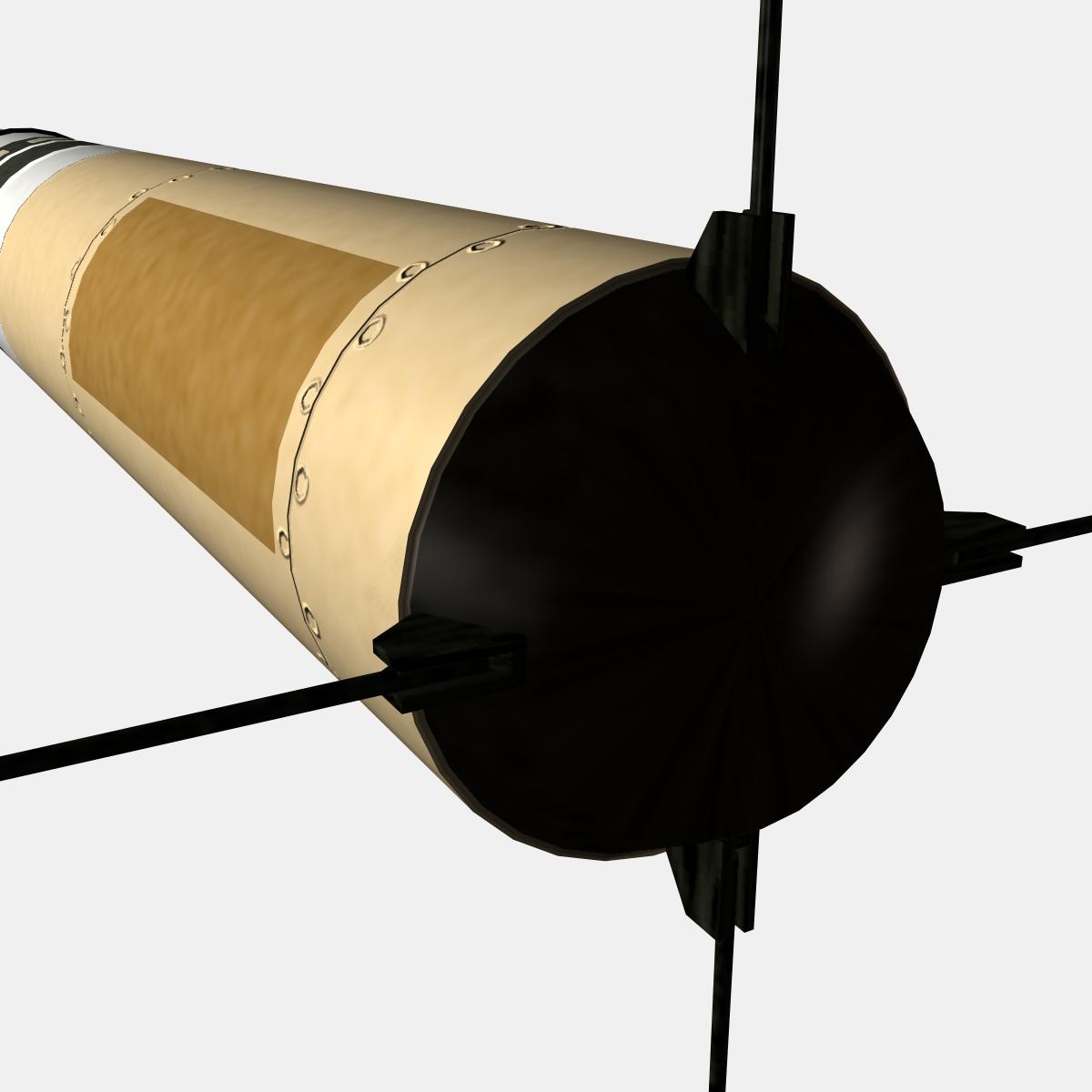mk-234 nulka decoy 3d model 3ds dxf fbx blend cob dae x obj 217812