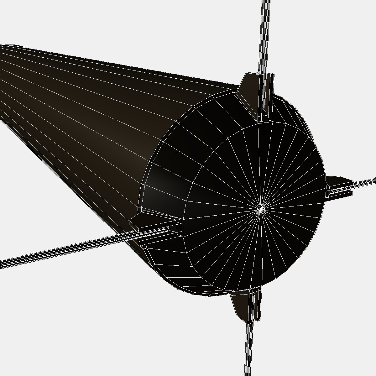 mk-234 nulka decoy 3d model 3ds dxf fbx blend cob dae x obj 217817