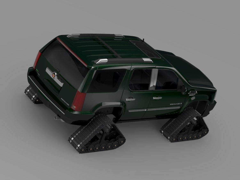 cadillac escalade crawler 3d model 3ds max fbx c4d lwo ma mb hrc xsi 217834