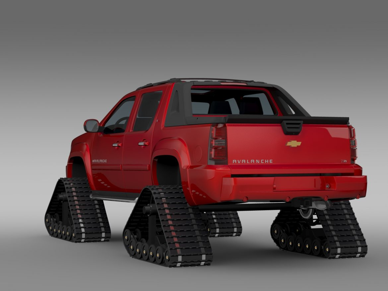 chevrolet avalanche z71 crawler 3d model 3ds max fbx c4d lwo ma mb hrc xsi obj 217851