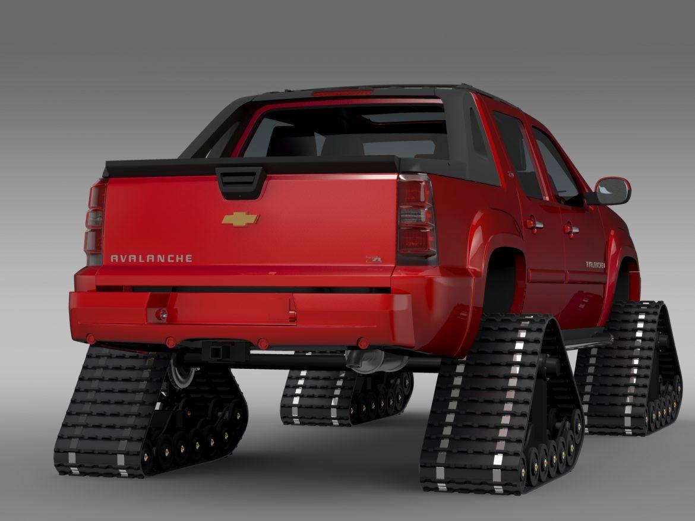 chevrolet avalanche z71 crawler 3d model 3ds max fbx c4d lwo ma mb hrc xsi obj 217852