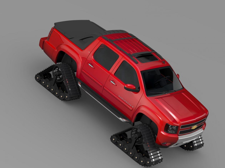 chevrolet avalanche z71 crawler 3d model 3ds max fbx c4d lwo ma mb hrc xsi obj 217853