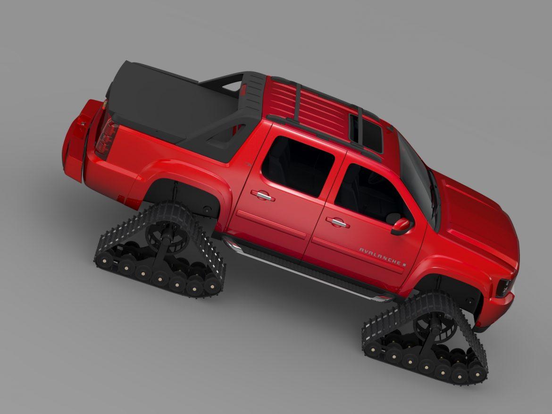 chevrolet avalanche z71 crawler 3d model 3ds max fbx c4d lwo ma mb hrc xsi obj 217854