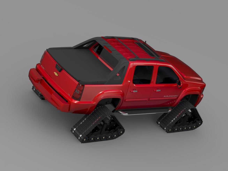 chevrolet avalanche z71 crawler 3d model 3ds max fbx c4d lwo ma mb hrc xsi obj 217855