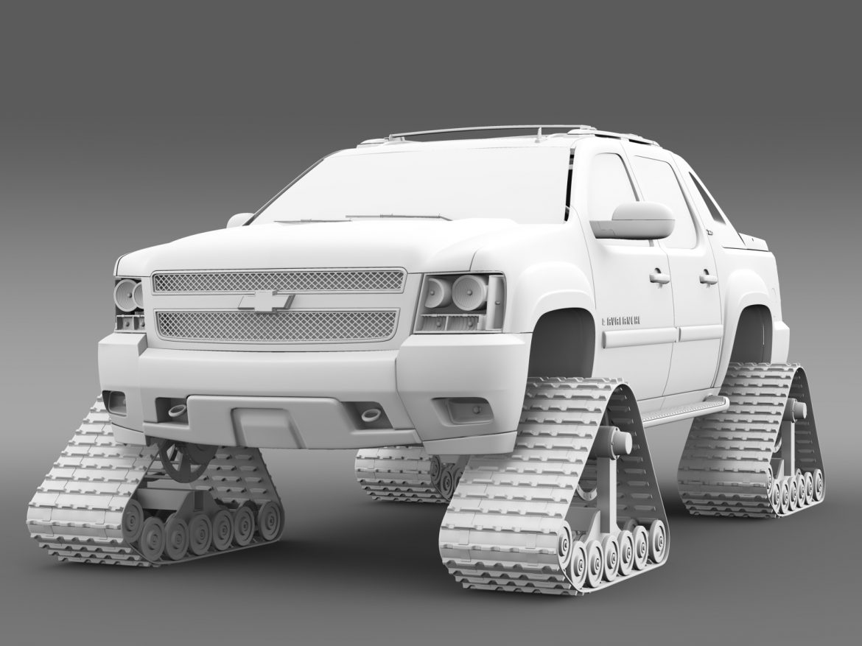 chevrolet avalanche z71 crawler 3d model 3ds max fbx c4d lwo ma mb hrc xsi obj 217858