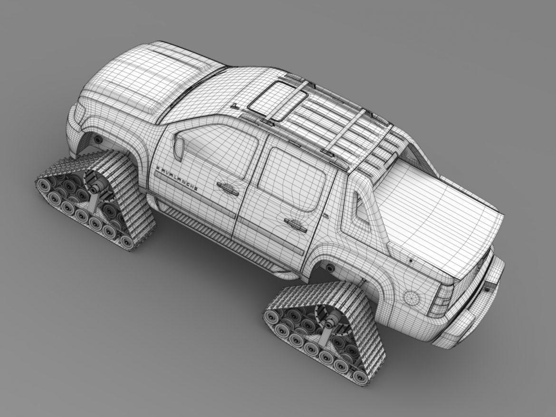 chevrolet avalanche z71 crawler 3d model 3ds max fbx c4d lwo ma mb hrc xsi obj 217859