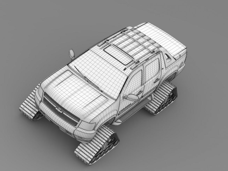 chevrolet avalanche z71 crawler 3d model 3ds max fbx c4d lwo ma mb hrc xsi obj 217861