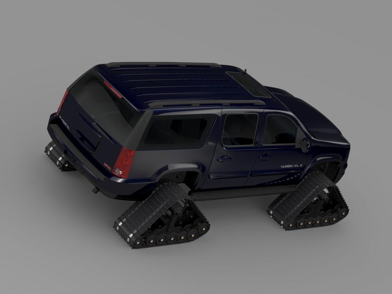 gmc yukon xl crawler 3d model 3ds max fbx c4d lwo ma mb hrc xsi obj 217875