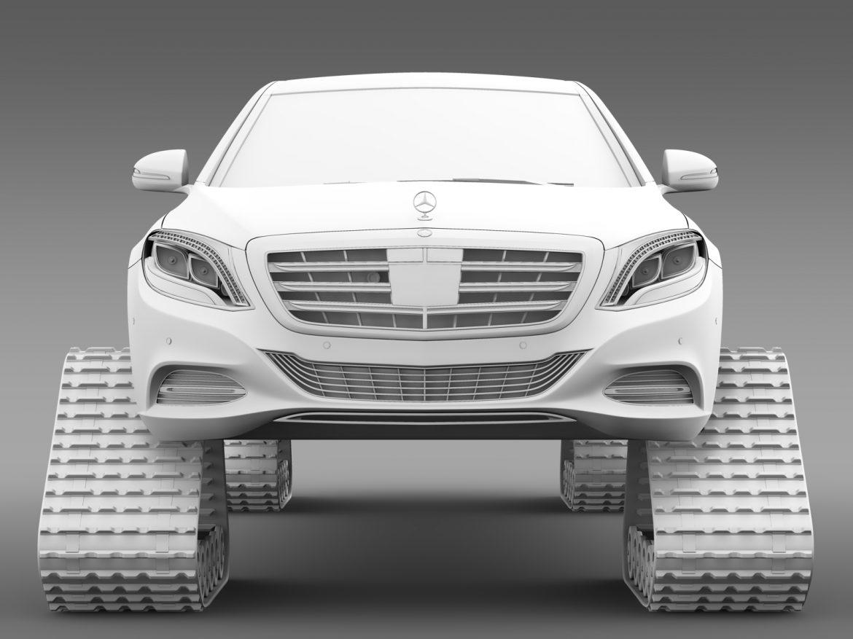 mercedes maybach pullman crawler 2016 3d model 3ds max fbx c4d lwo ma mb hrc xsi obj 217999