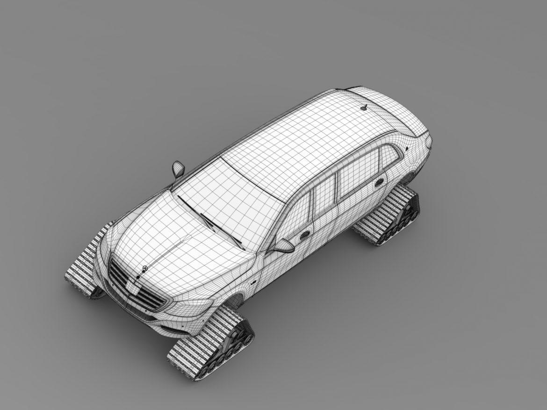 mercedes maybach pullman crawler 2016 3d model 3ds max fbx c4d lwo ma mb hrc xsi obj 218002