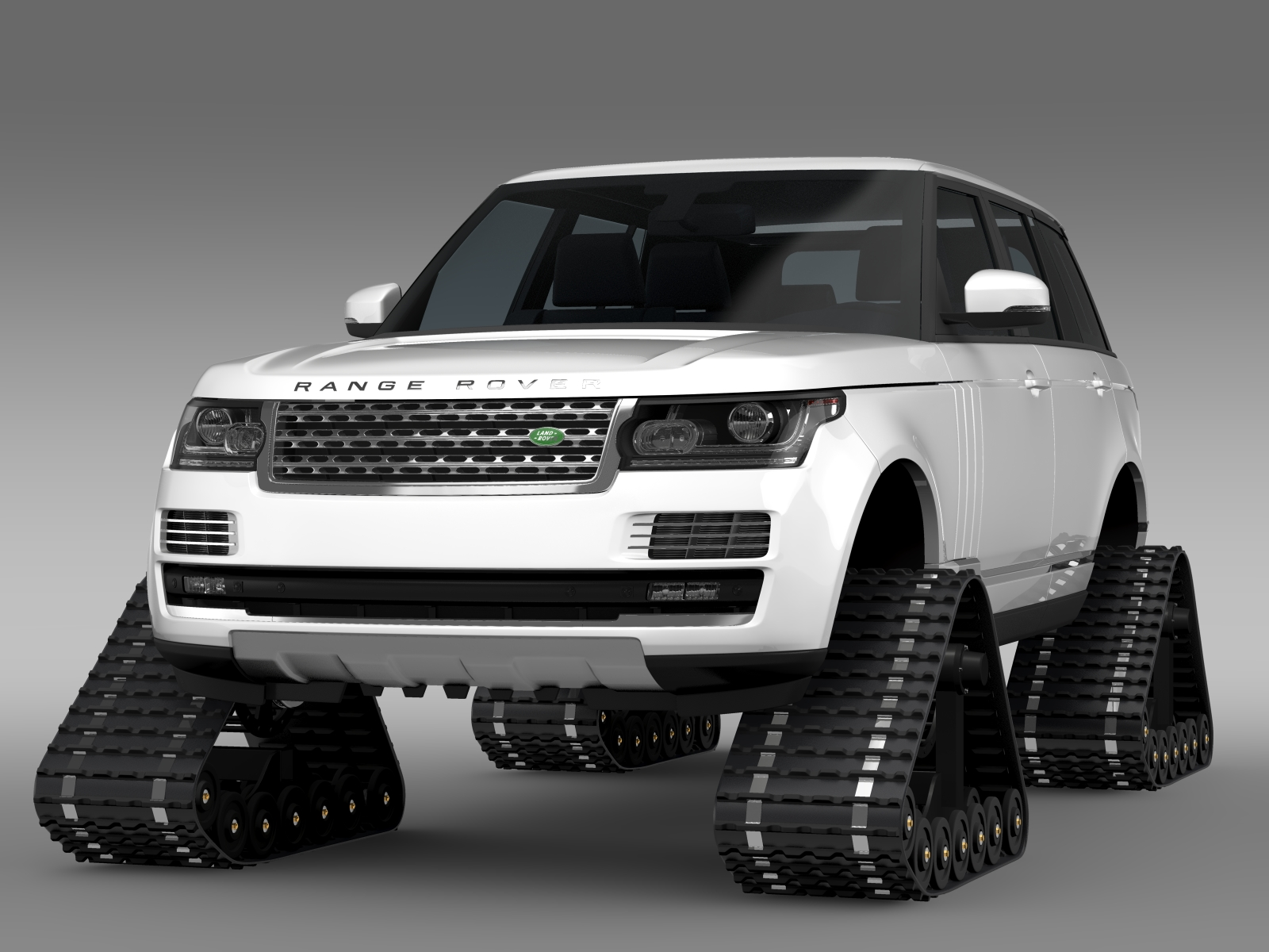 range rover supercharged l405 crawler 2016 3d model buy range rover supercharged l405 crawler. Black Bedroom Furniture Sets. Home Design Ideas