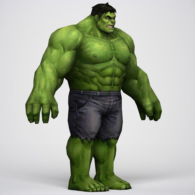 Game Ready Superhero Hulk