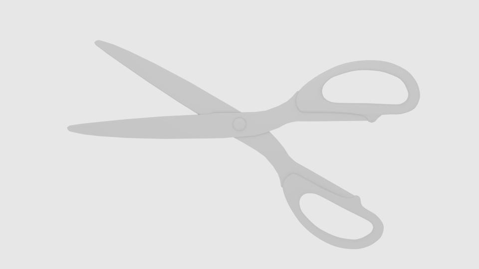 scissors v4 3d model blend 218085