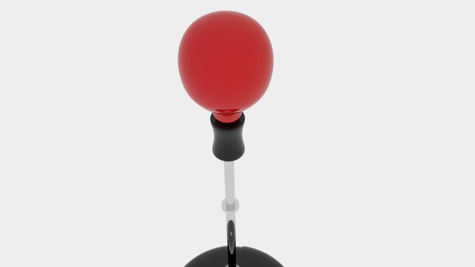 punch bag ball 3d model blend 218136
