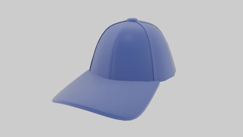 baseball hat 3d model blend 218147