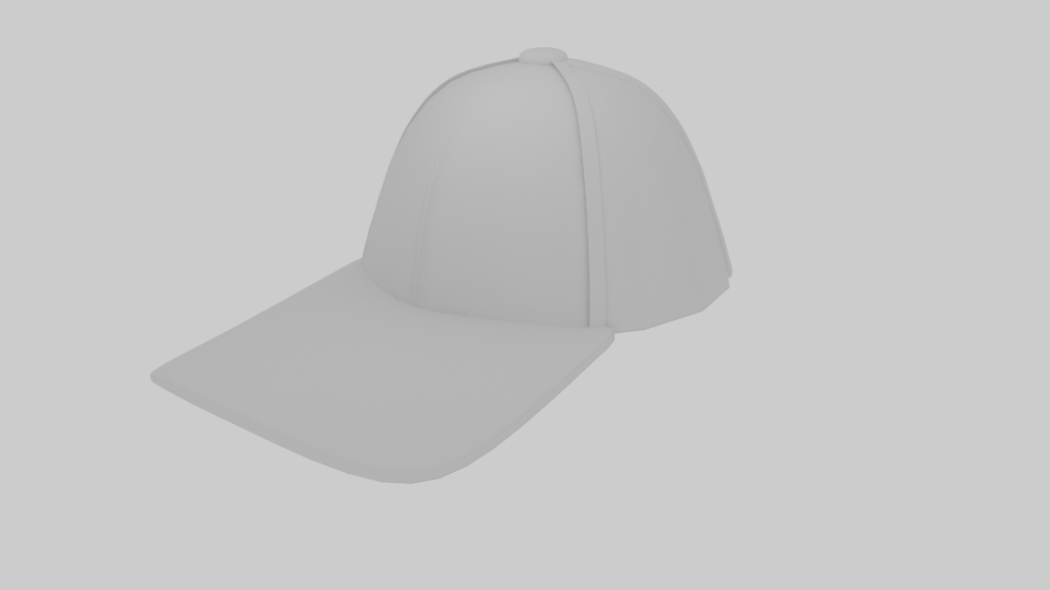baseball hat 3d model blend 218151