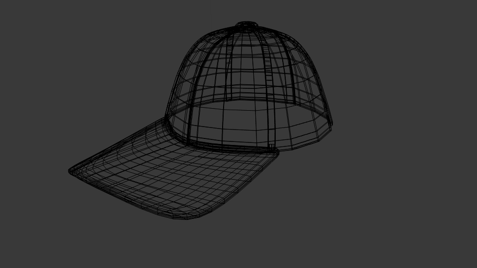 baseball hat 3d model blend 218152