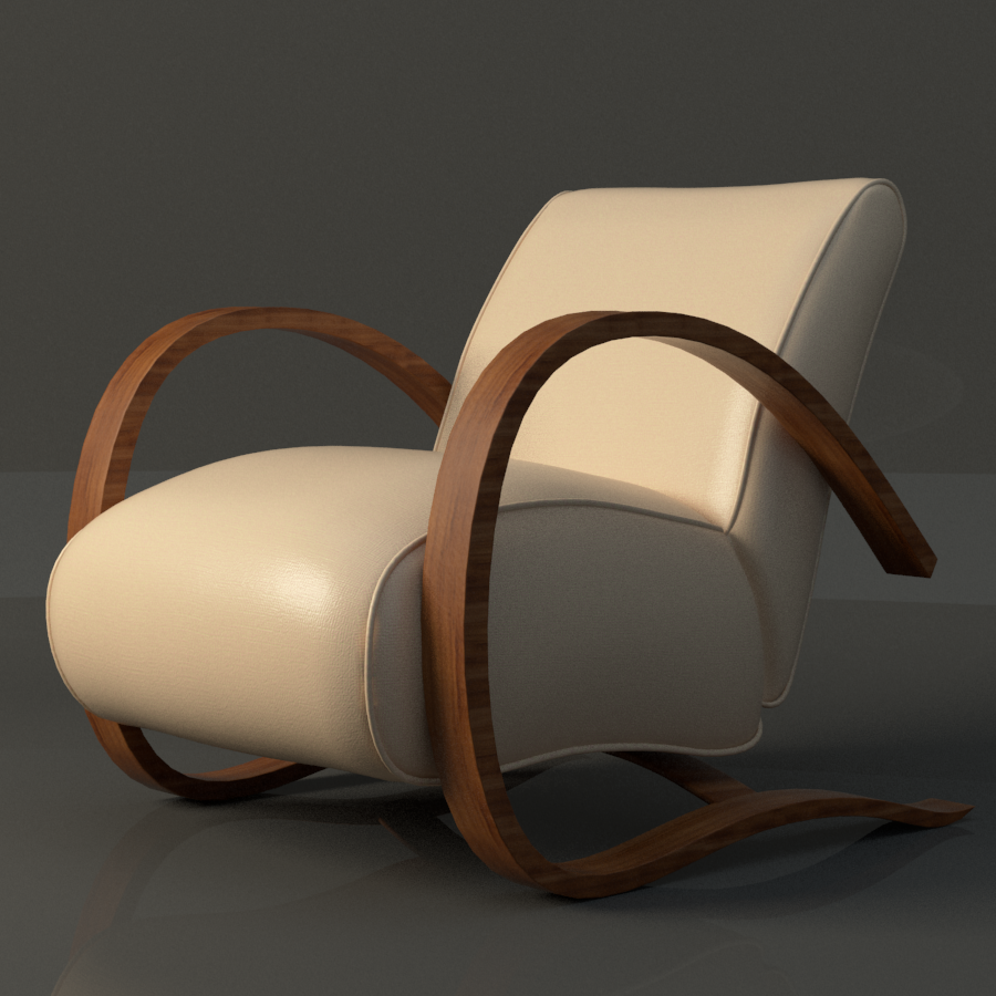 h269 chair 3d model max fbx ma mb obj 218168