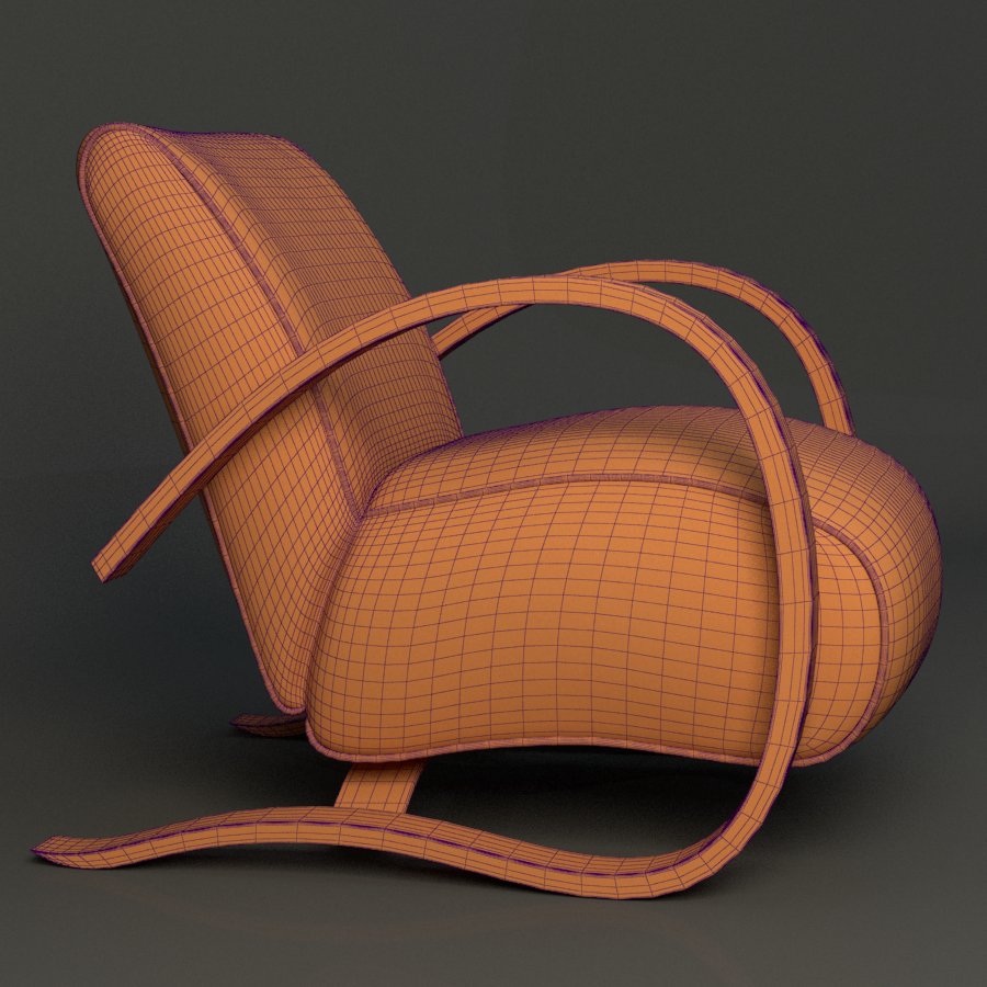 h269 chair 3d model max fbx ma mb obj 218172