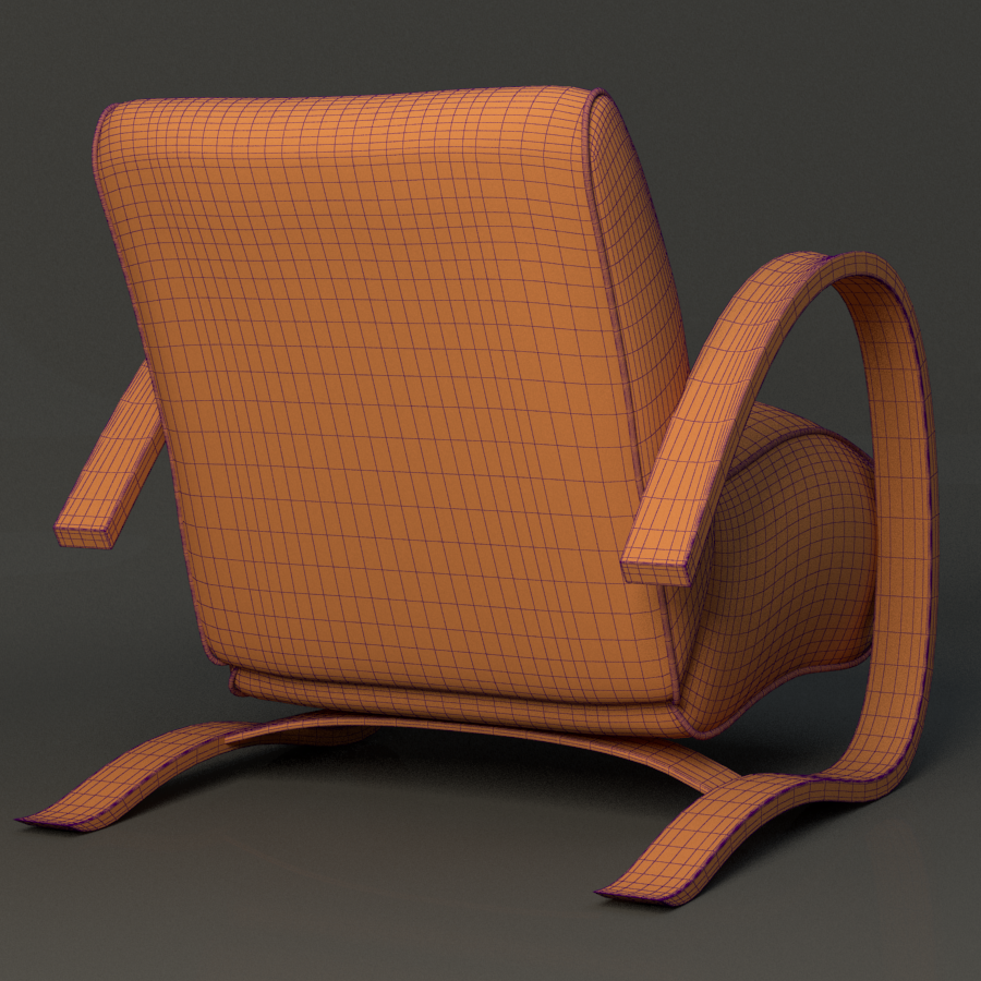 h269 chair 3d model max fbx ma mb obj 218173