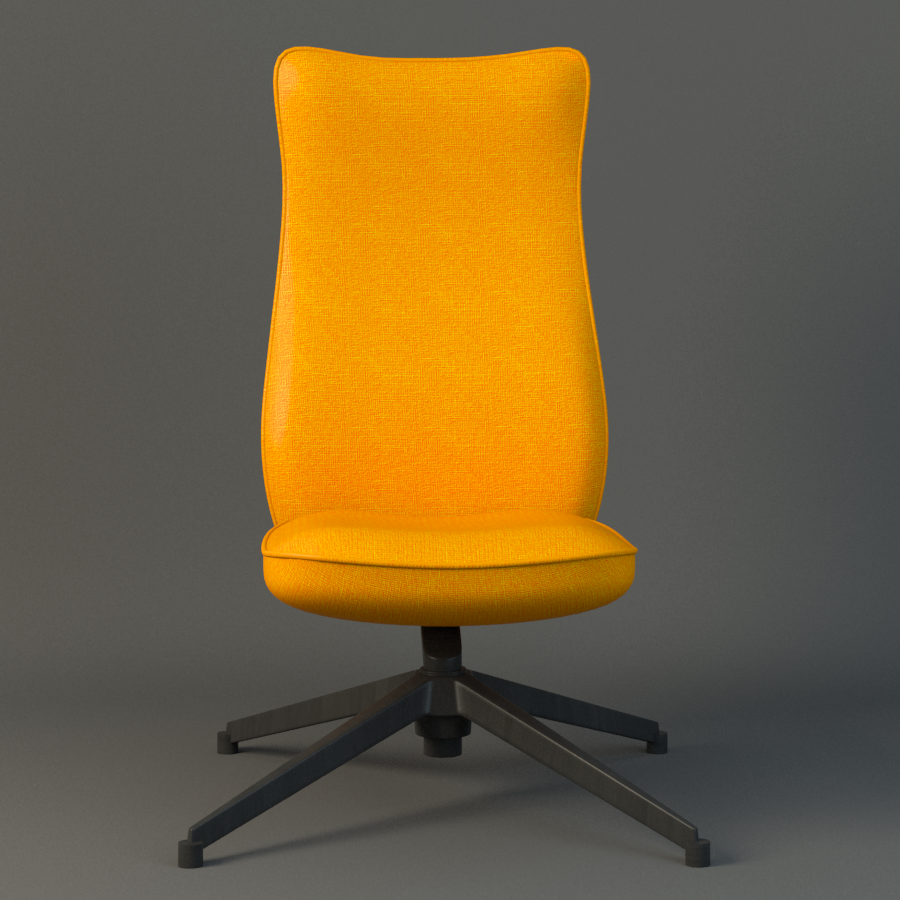 pilot chair knoll 3d model max fbx ma mb obj 218176