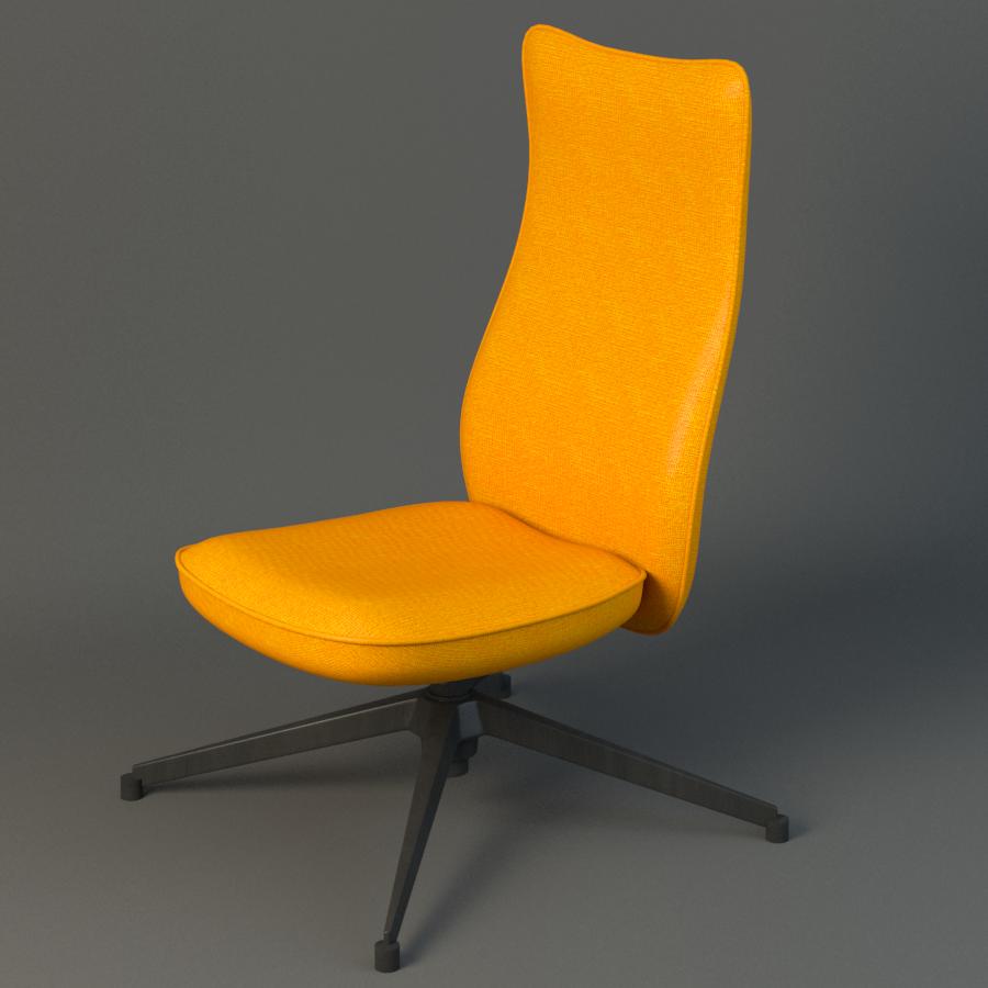 pilot chair knoll 3d model max fbx ma mb obj 218177