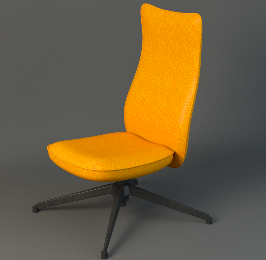 Pilot Chair knoll ( 861.12KB png by duoogle )