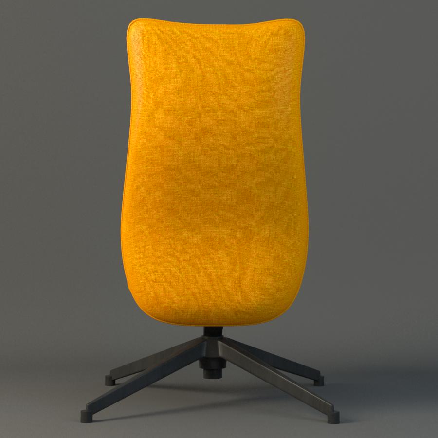 pilot chair knoll 3d model max fbx ma mb obj 218178