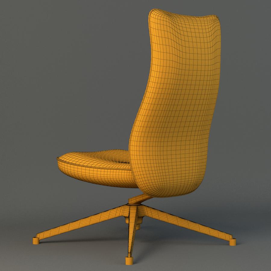 pilot chair knoll 3d model max fbx ma mb obj 218179