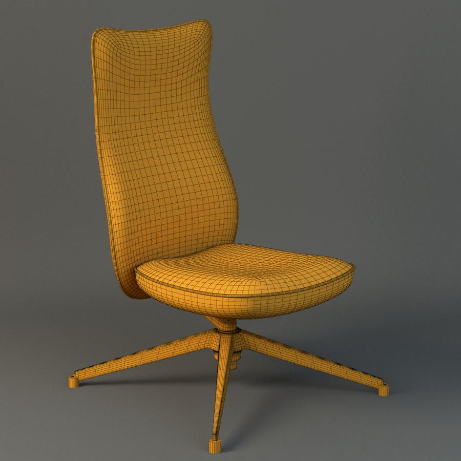 pilot chair knoll 3d model max fbx ma mb obj 218180