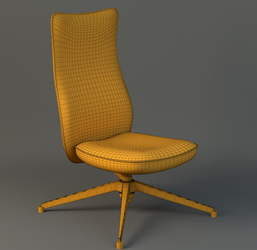 Pilot Chair knoll ( 960.45KB png by duoogle )