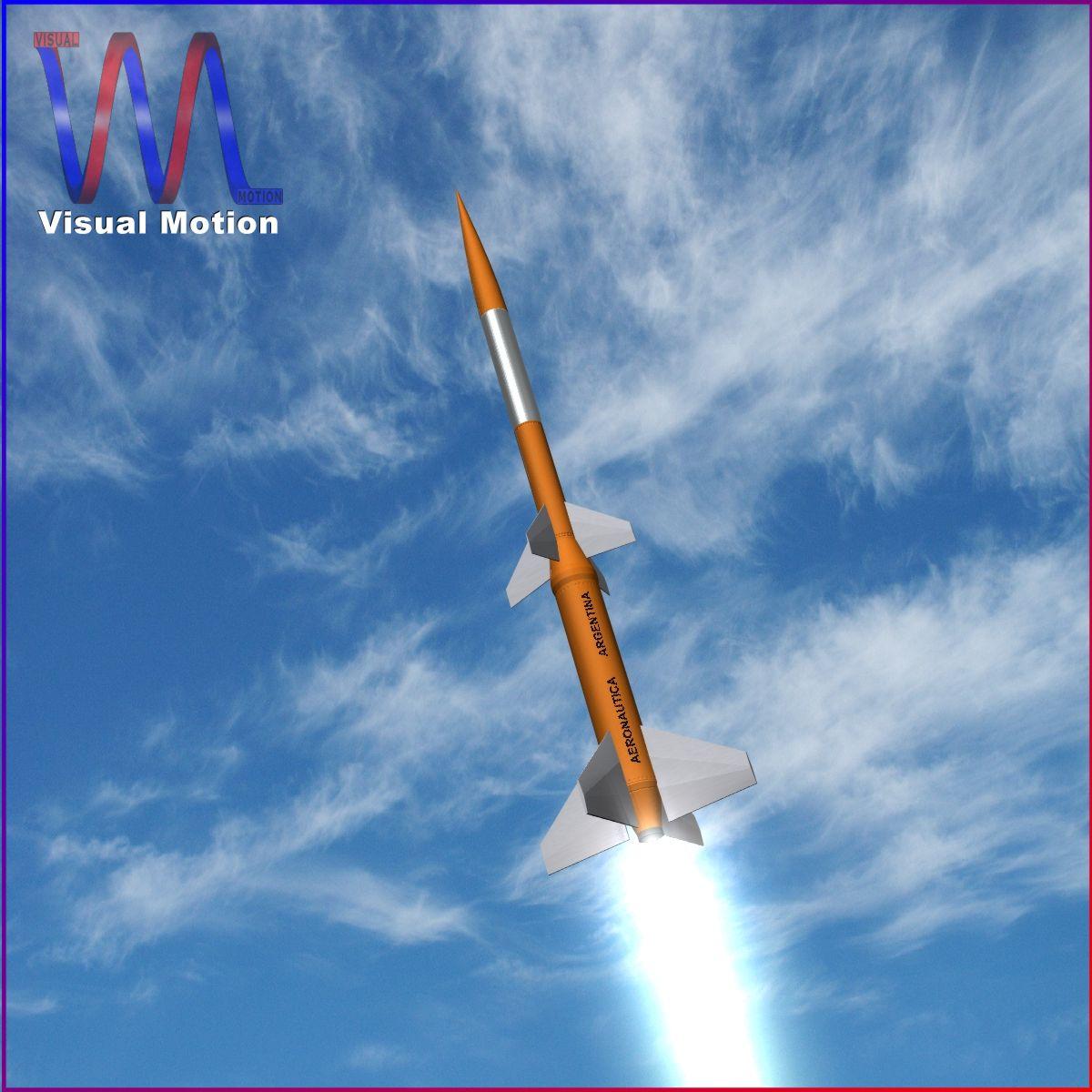 gamma centauro rocket 3d model 3ds dxf fbx blend cob dae x obj 218199