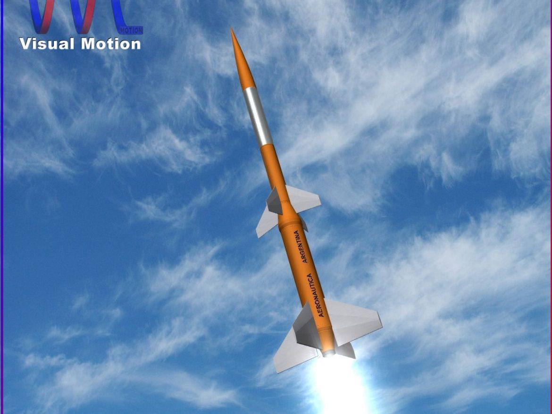 Gamma Centauro Rocket 3d model 3ds dxf fbx blend cob dae X obj