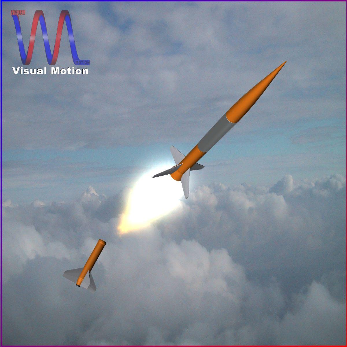 gamma centauro rocket 3d model 3ds dxf fbx blend cob dae x obj 218200