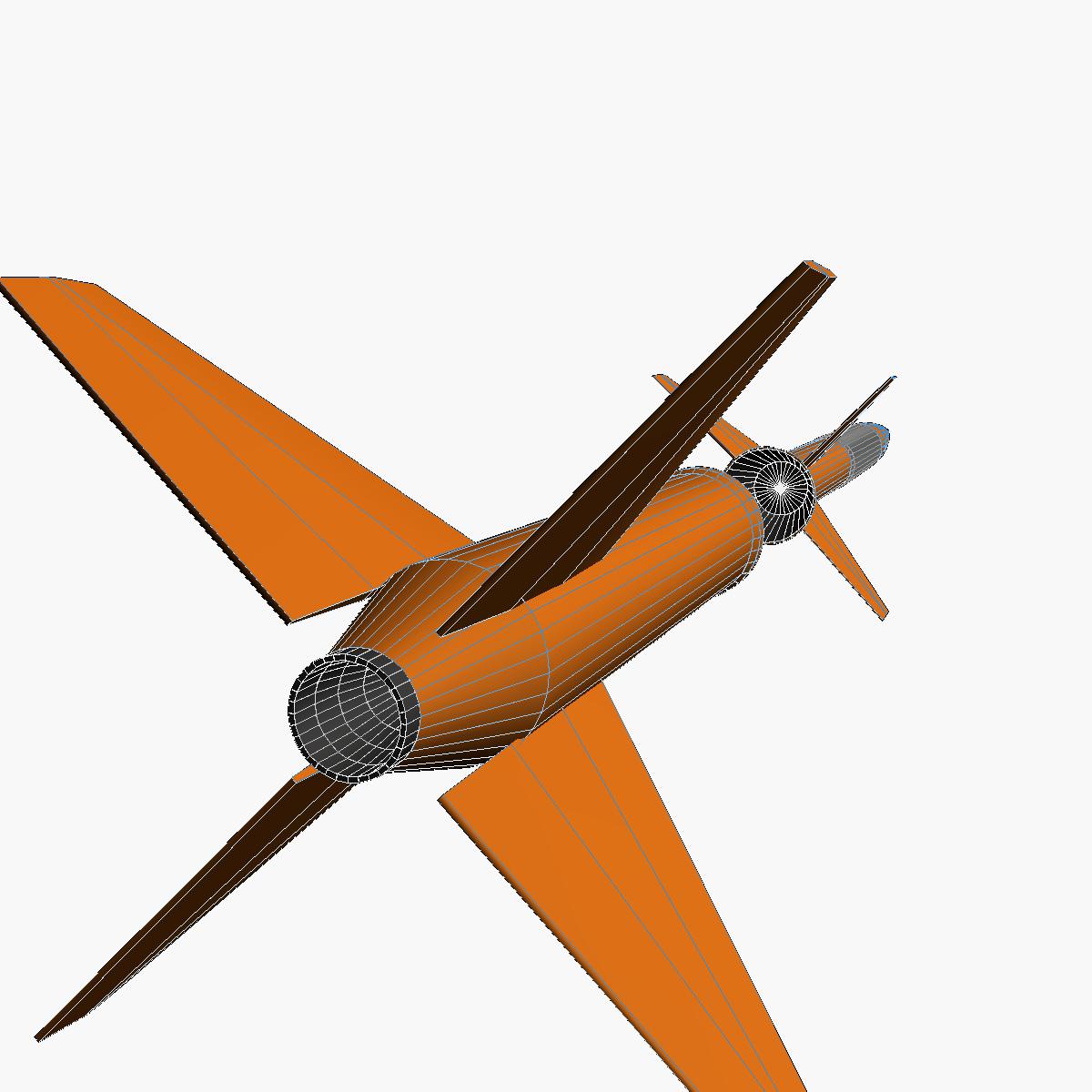 gamma centauro rocket 3d model 3ds dxf fbx blend cob dae x obj 218207